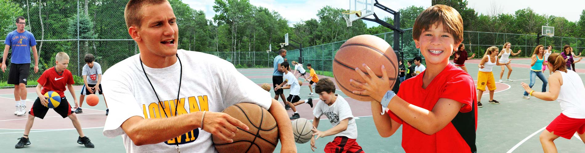 Basketball at Camp