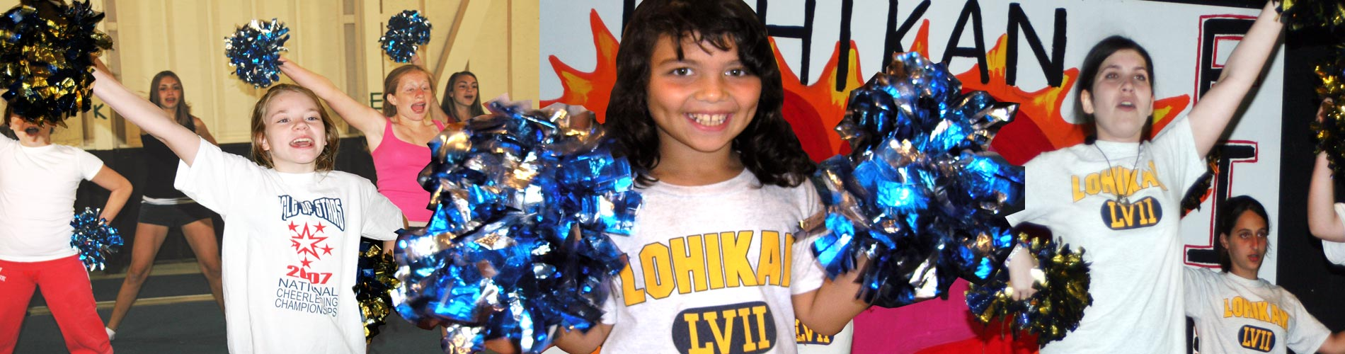 Cheerleading at Camp Lohikan
