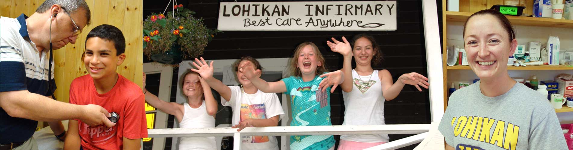 Camp Nurses at Lohikan Counselors