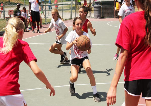 Basketball at Camp Lohikan