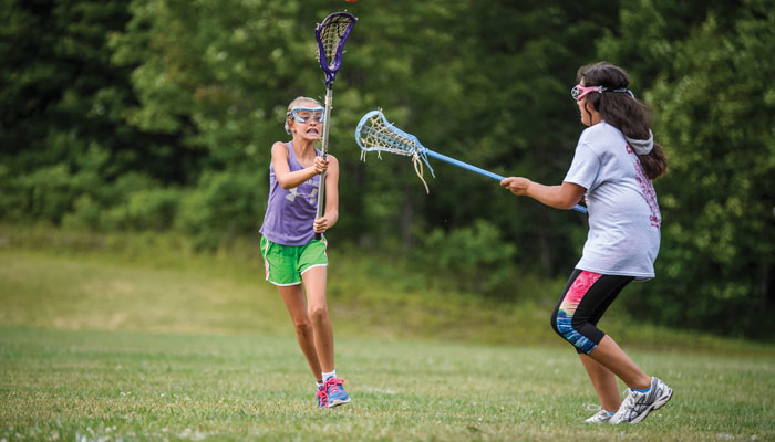 Lacrosse at Camp Lohikan