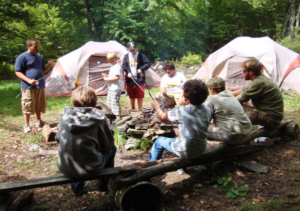 Survival Program at Camp Lohikan