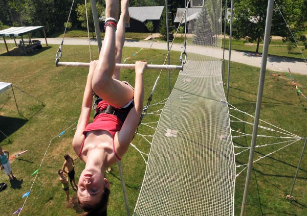 Flying Trapeze at Camp Lohikan